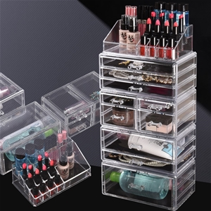 Cosmetic 10 Drawer Makeup Organizer Stor