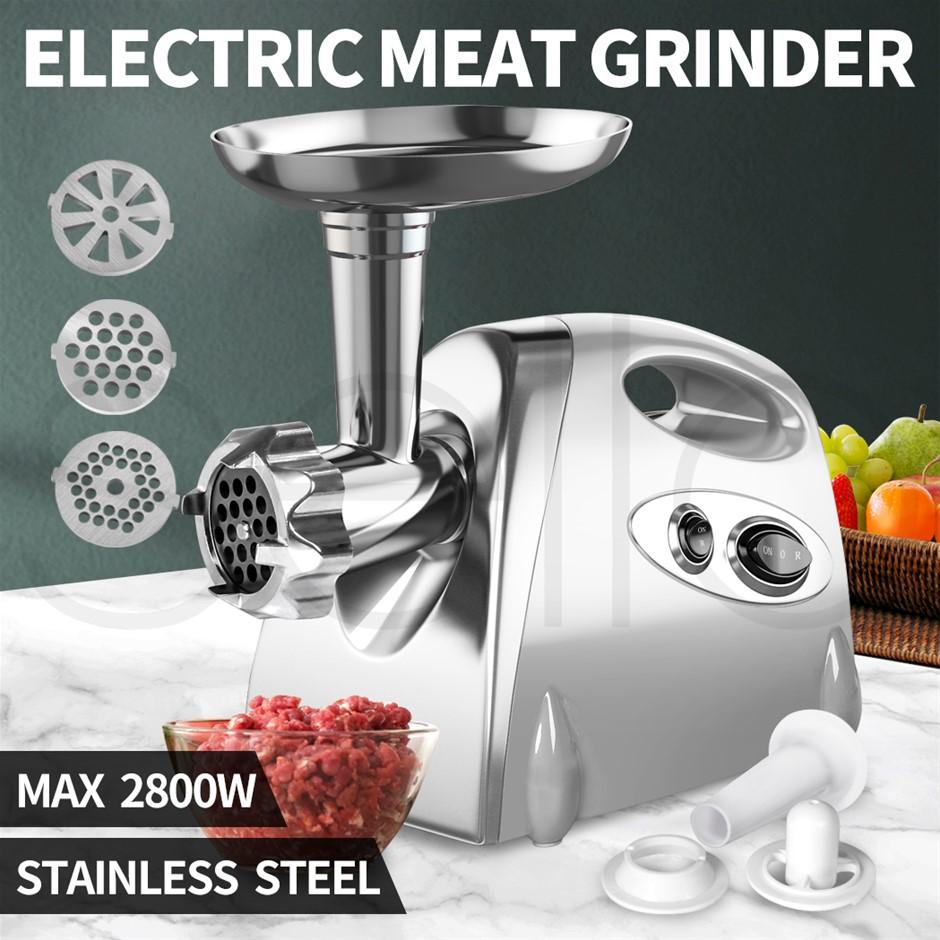 2800W Electric Meat Grinder Mincer Ssage Filler Kibbe Maker Stuffer Kitchen