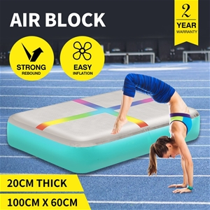Centra 0.6X1M Air Track Block Inflatable