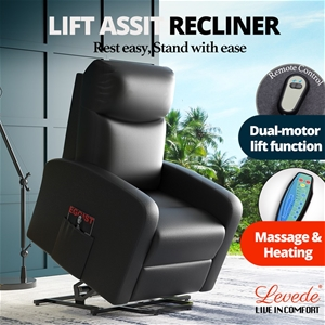 Levede Massage Chair Recliner Chairs Ele