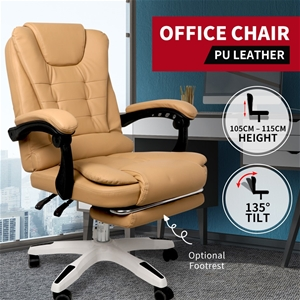 Gaming Chair Office Computer Racing PU L