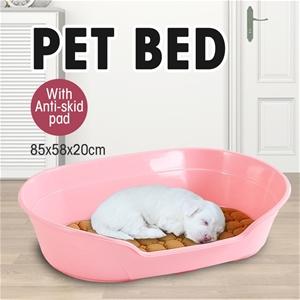 Large 85cm Plastic Pet Bed w/ Ventilatio