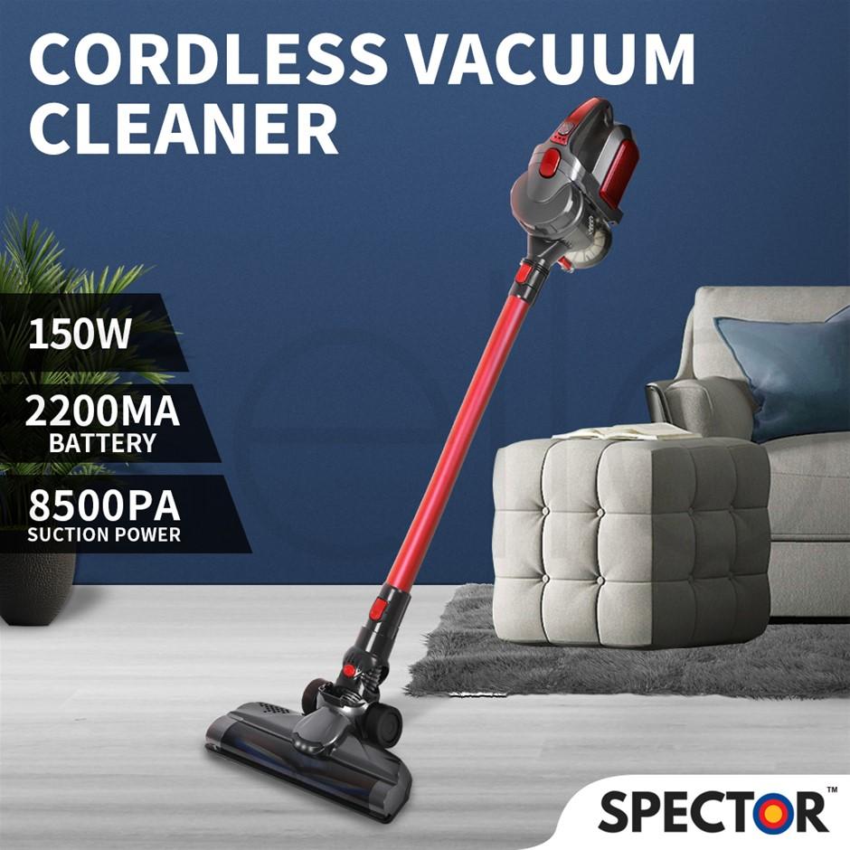 Spector 150W Handheld Vacuum Cleaner Cordless Stick Vac Bagless LED