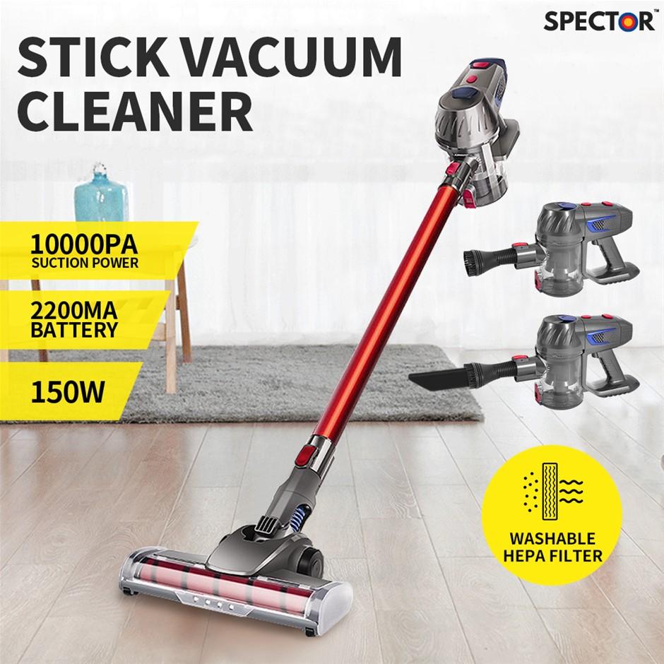 Spector Handheld Vacuum Cleaner Cordless Stick Handstick Vac Bagless