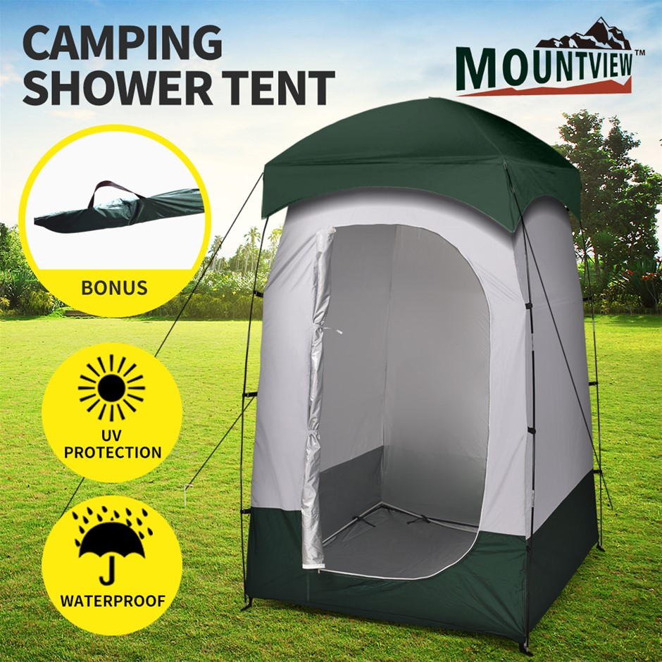 Mountview Camping Shower Toilet Tent Outdoor Portable Tents Ensuite