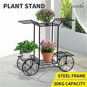 Outdoor Indoor Pot Plant Stand Garden De