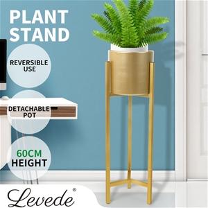 Plant Stand Garden Planter Metal Flower