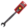 SIDCHROME 24mm Geared Combo Spanner with Reversible Wrench & Anti-Slip Desi