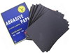 100 x Sheets Abrasive Paper, Water Proof Silicon Carbon, Grit 1500, Sheet S