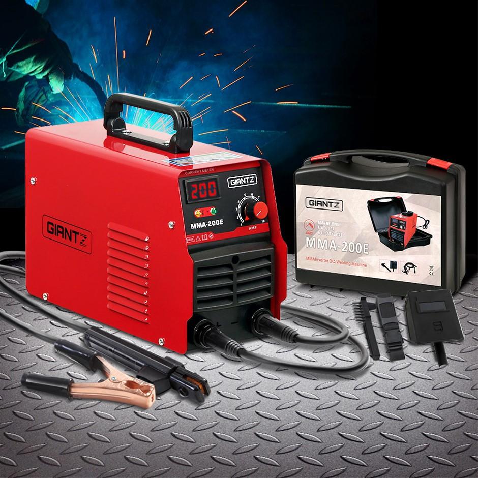 Giantz 200 Amp Inverter Welder MMA ARC DC IGBT Welding Machine Stick