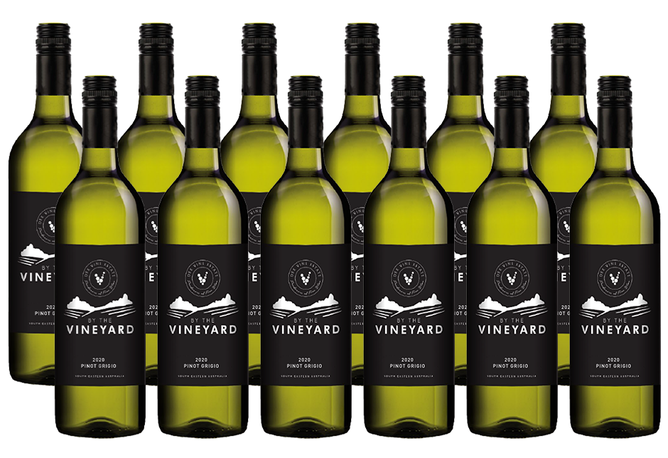 By The Vineyard Pinot Grigio (12x 750mL). SEA.