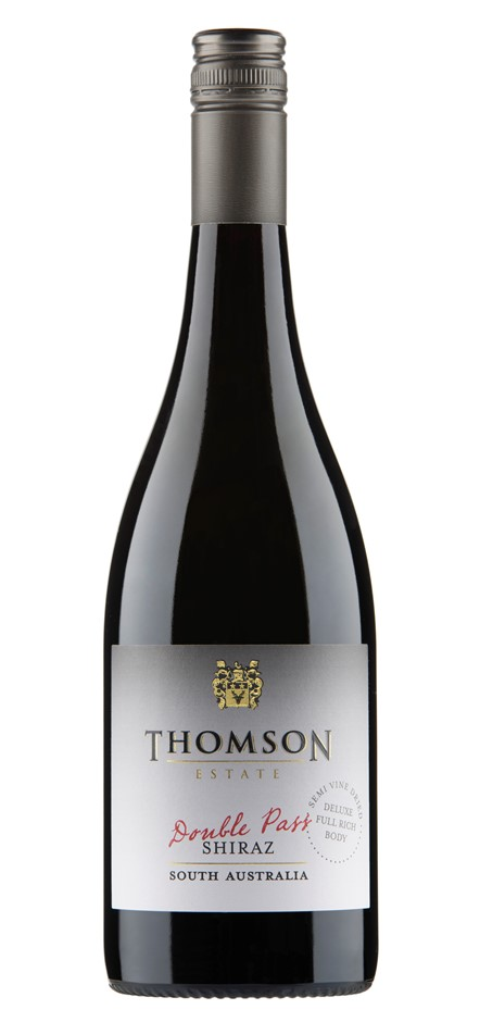 Thomson Estate Double Pass Shiraz 2019 (12 x 750mL) SA
