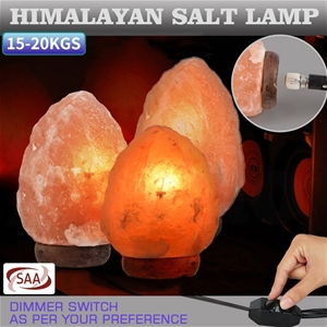 15-20 Kgs Himalayan Salt Lamp Rock Cryst