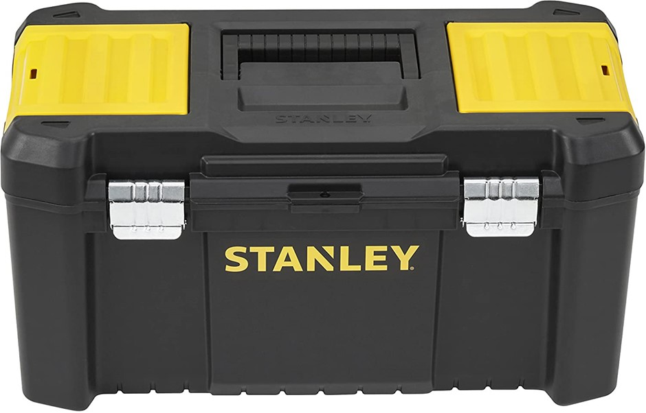 STANLEY Tool Box with Metal Clips, 482 x 254 x 250mm Buyers Note - Discount