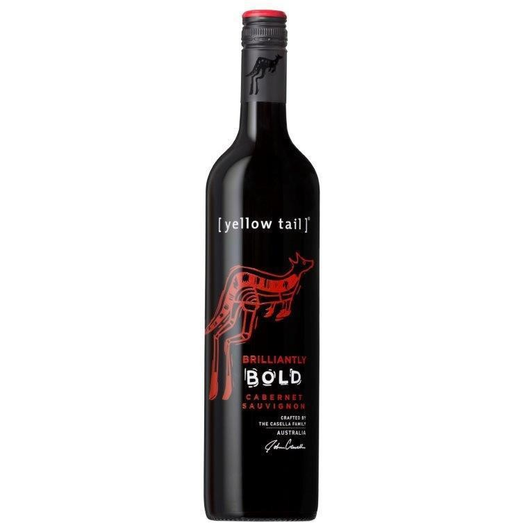 Yellow Tail Brilliantly Bold Cabernet Sauvignon NV (12x 750mL)