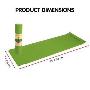 TPE Yoga Mat 183*61*0.8cm Green
