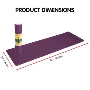 TPE Yoga Mat 183*61*0.8cm Purple