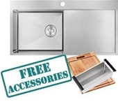 Brand NEW Double Bowl Kitchen Sinks Sale - NSW Pick up