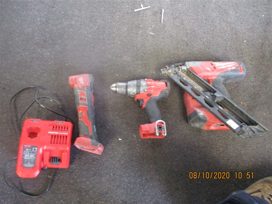 Qty 4 x Milwaukee Tools/Items