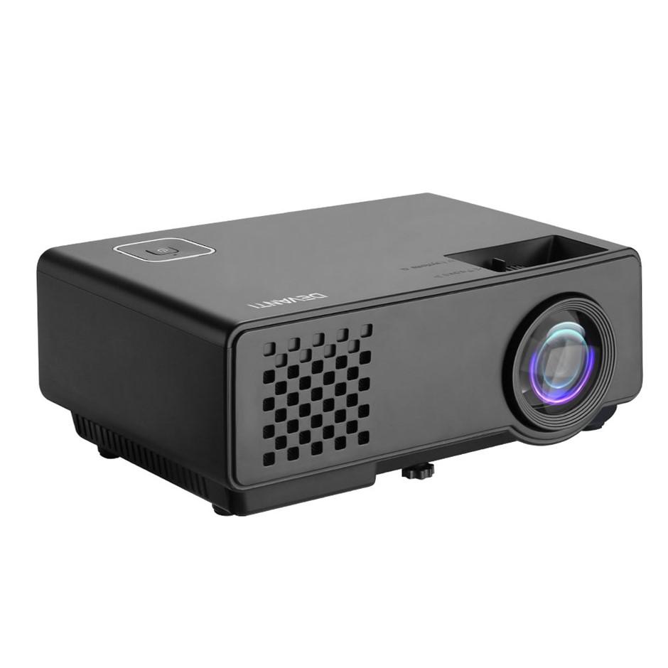 Devanti Mini Video Projector WiFi Bluetooth HD 1080P 1000 Lumens Home