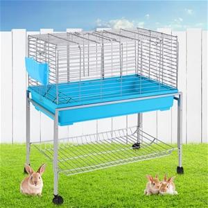 i.Pet Rabbit Cage Hutch Indoor Hamster E