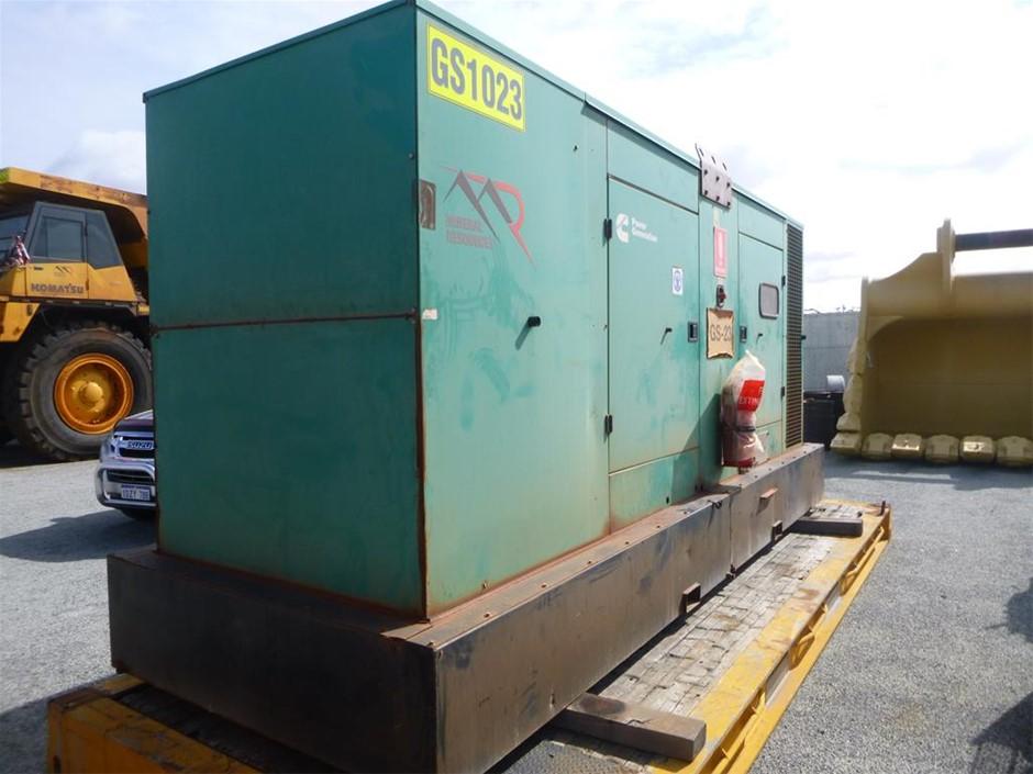 2012 Cummins 600 KVA Silenced Enclosed Generator (See Grays Note)