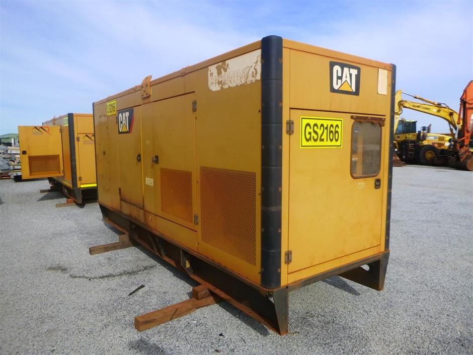 2013 Caterpillar 550 KVA Silenced Enclosed Generator (See Grays Note)