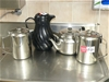 Qty Large Coffee & Tea Pots and 1 x Insulated Jug