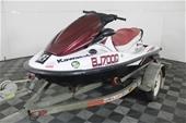 Kawasaki STX 15F 1500 cc 4 Stroke 3 Seater Jet Ski