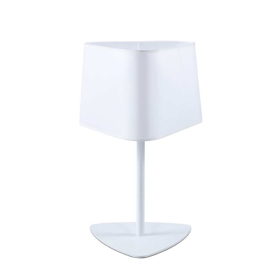Sherwood Olivia White Table Lamp Large