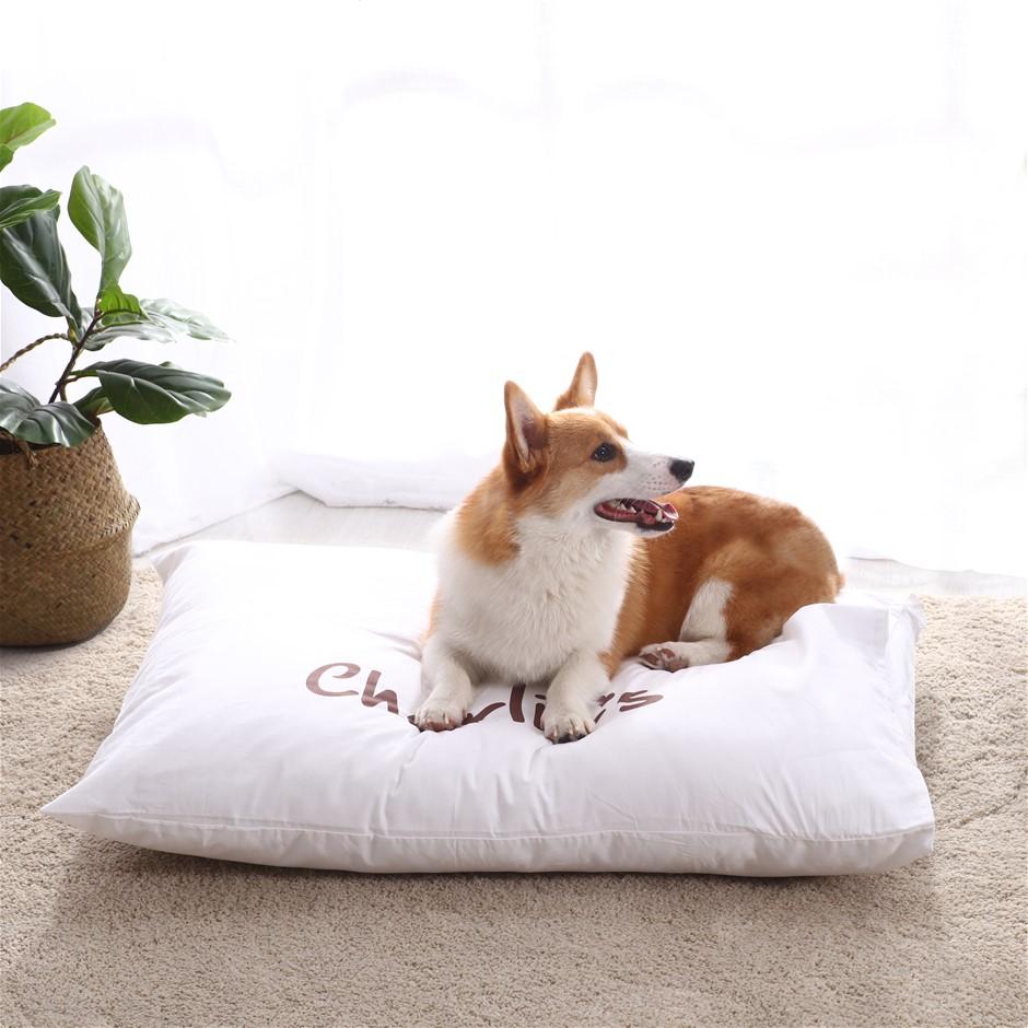 Charlie's Pet Pillowcase White - Medium (90 x 65 cm)