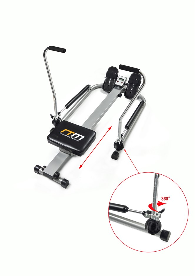 Rowing Machine Rower Exercise Fitness Gym