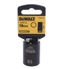 DeWALT 1/2`` Drive Impact Socket 19mm. Buyers Note - Discount Freight Rates