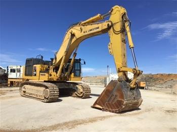 2010 Komatsu PC850-8 Hydraulic Excavator with Bucket