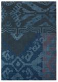 Himali Grace Med Indigo Hand Knotted/Spun & Hard Carded Wool Rug-240X170cm