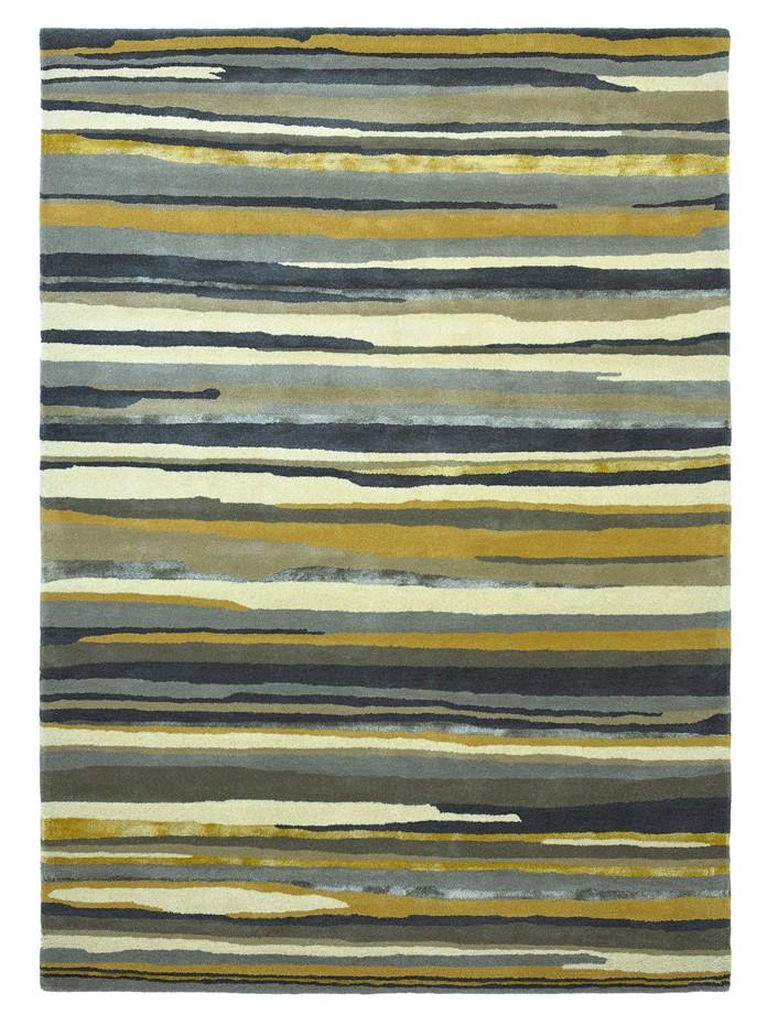Elsdon Metallic & Matte Minerals Med Hand Tufted Wool & Silk Rug-240X170cm