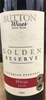Button Wines Golden Reserve Pyrenees Shiraz 2014 (6 x 750mL) VIC