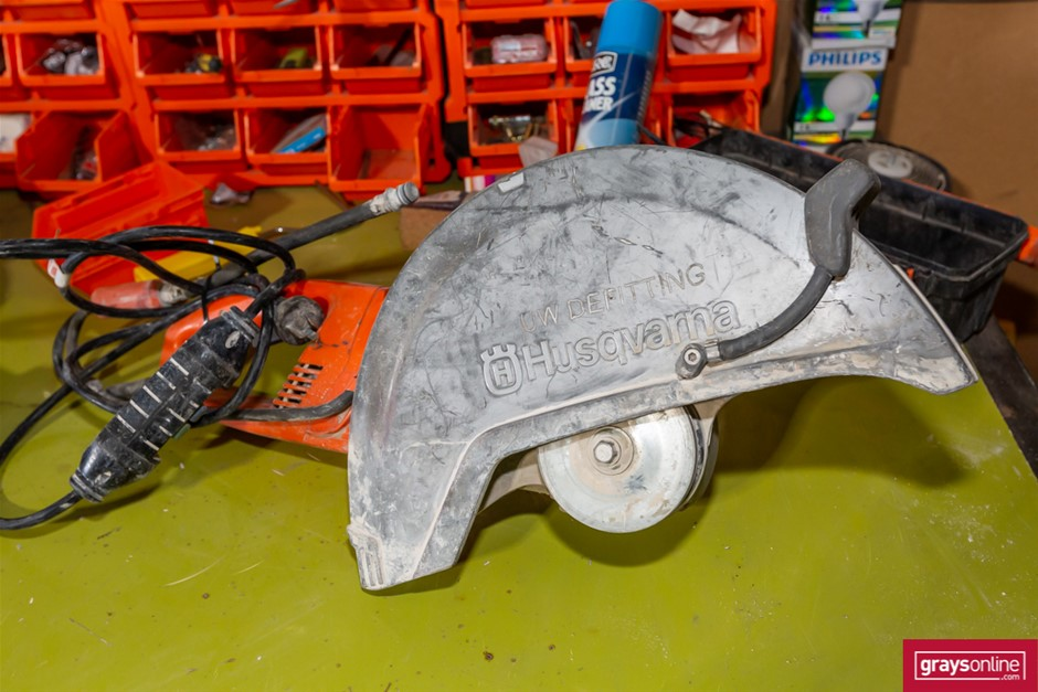 Husqvarna K3000 wet Concrete Saw