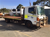 Unreserved 2007 Hino FD1J & 2008 Isuzu FRR500 Cab Chassis