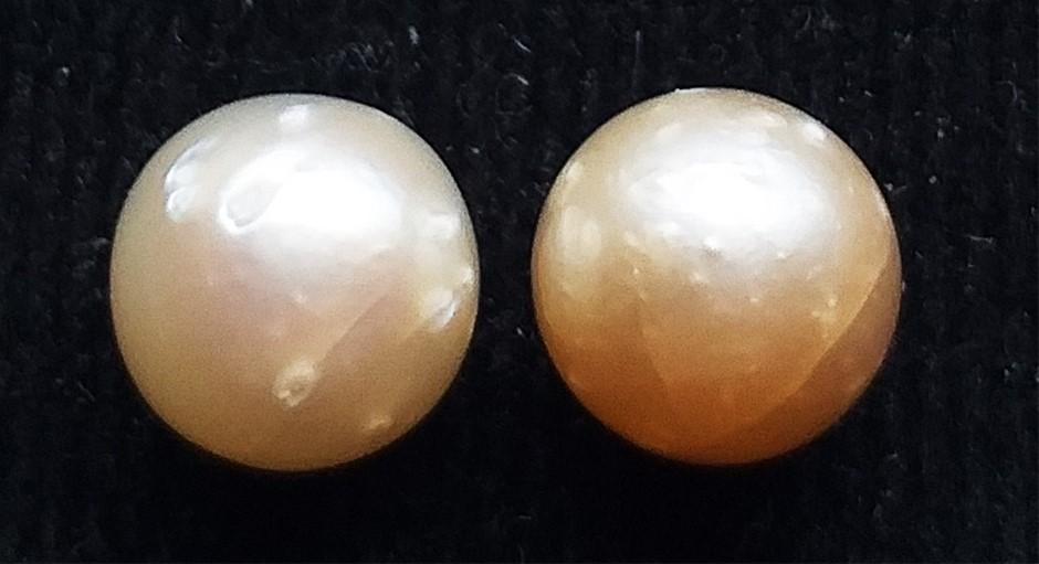 7.12 Carat South Sea Pearl Pair