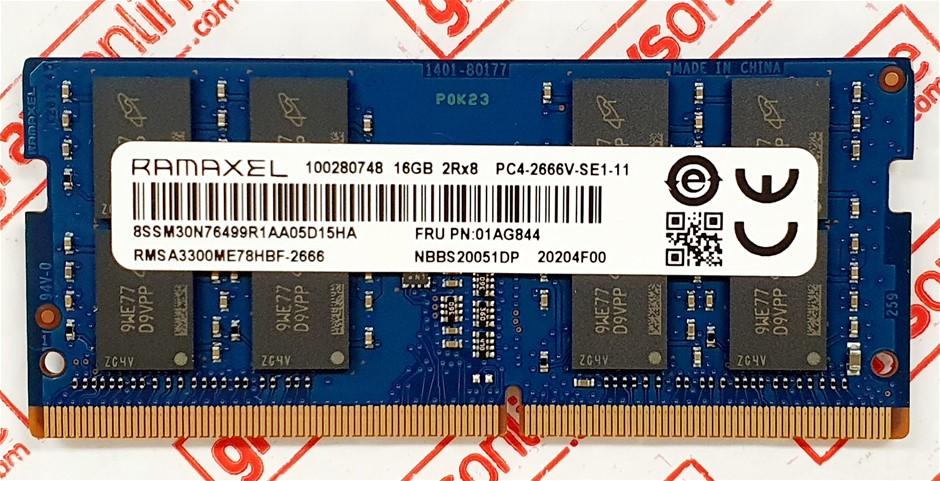 RAMAXEL 16GB PC4-2666V Sodimm 260pin DDR4 Laptop Memory Module