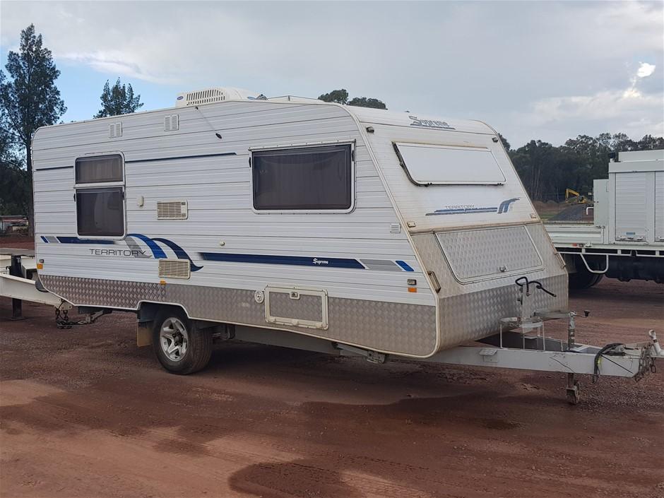 2005 Supreme Single Axle Caravan(WOVR Statutory)