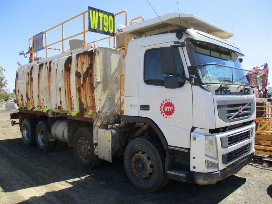 2012 Volvo FM MK2 8 x 4 Water Truck