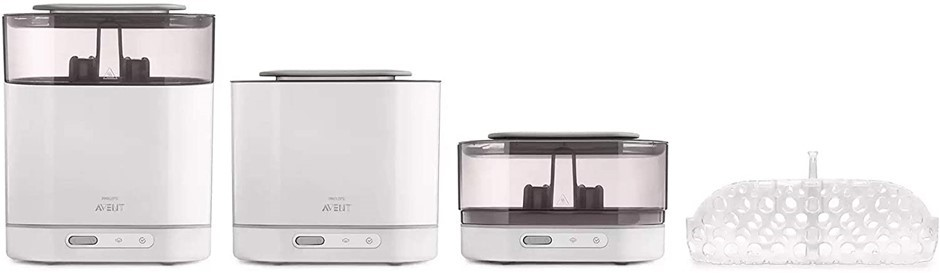 PHILIPS AVENT 4-in-1 Electric Steam Steriliser with Fast Cycle, Auto Shut-o