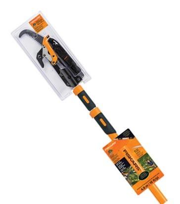 FISKARS Power-Lever Extendable Pole Saw abd Pruner 4.9M. N.B. Minor use. (S