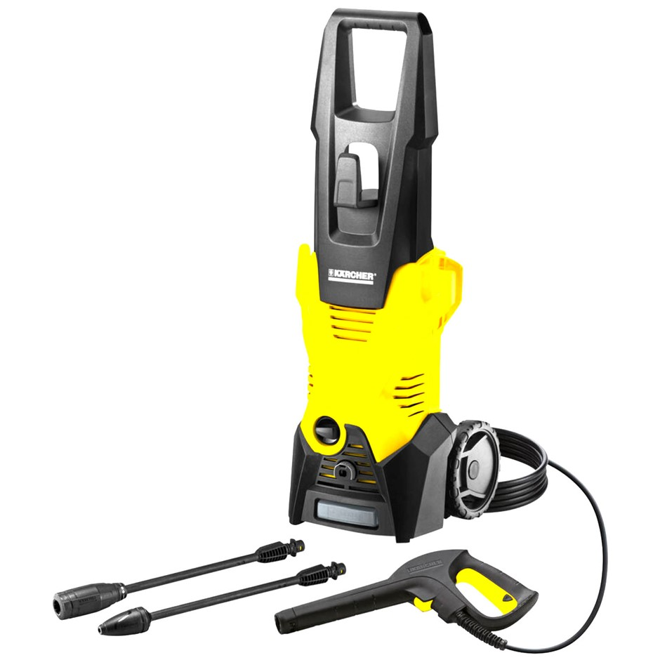 KARCHER K3 High Pressure Washer 1700psi w/ Deck Kit N.B. Has been used. (SN