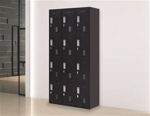 12-Door Locker for Office Gym Shed Schoo