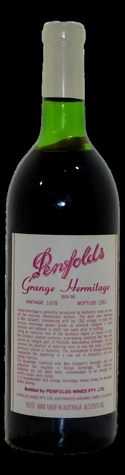 Penfolds Bin 95 Grange 1979 (1x 750mL)