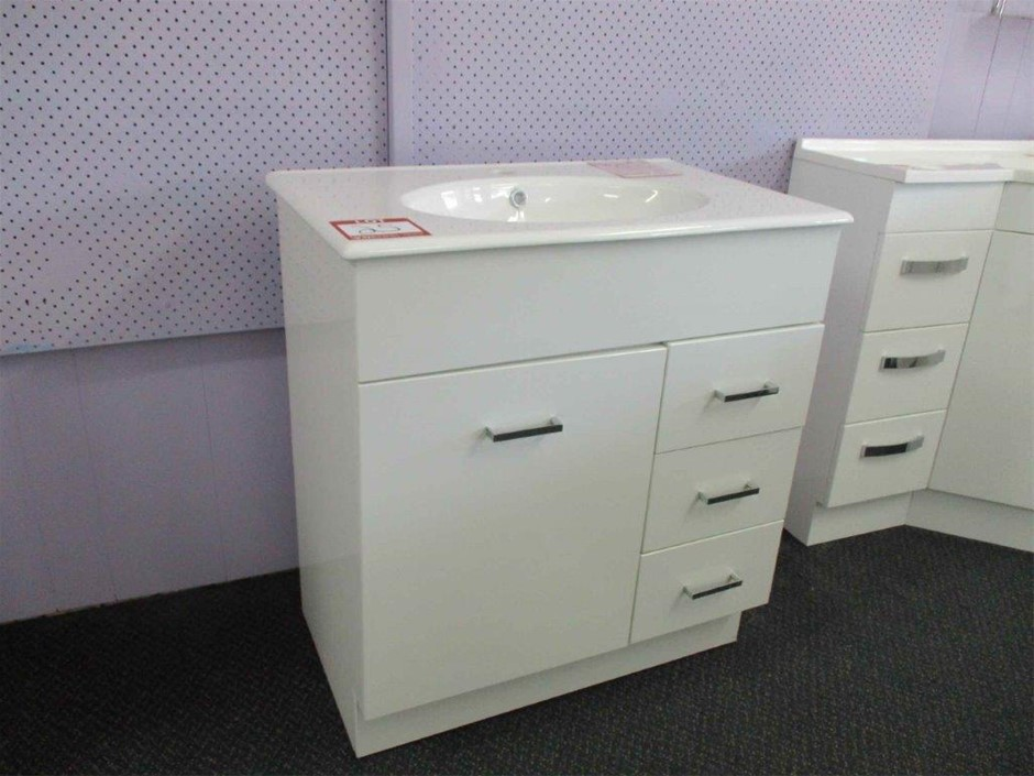 Mars 750 Vanity Cabinet with Basin