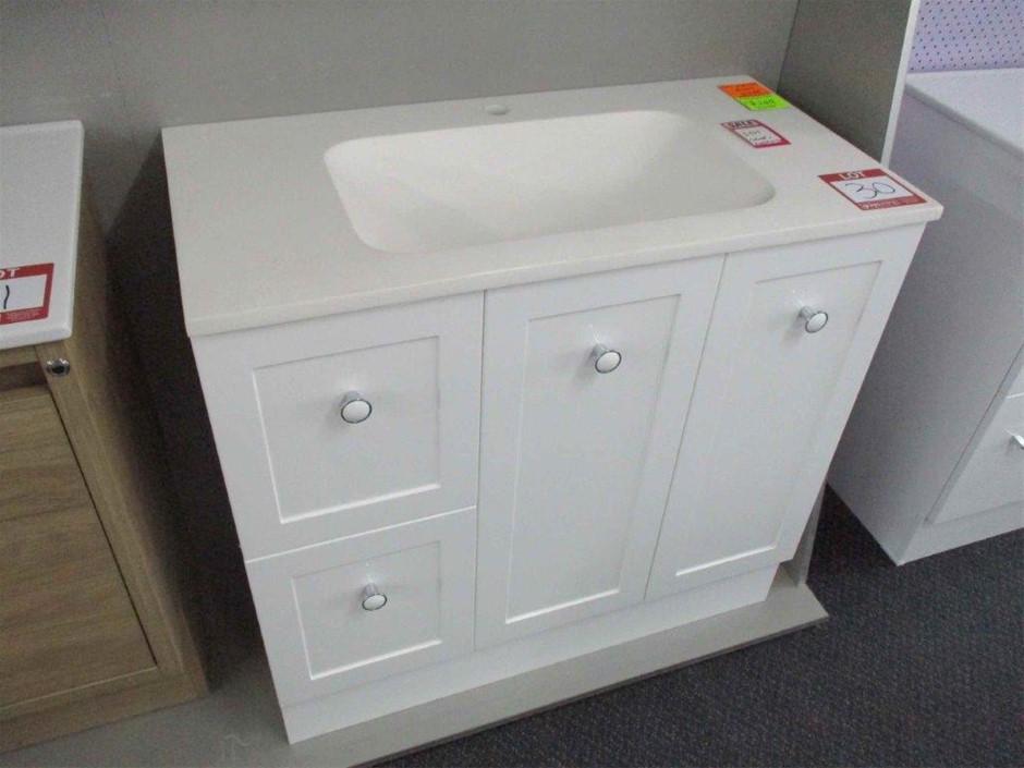900 Vienna Vanity Cabinet with Basin